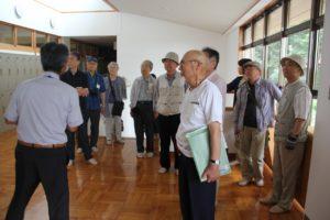 茨城県埋蔵文化財センターで概要説明を受ける